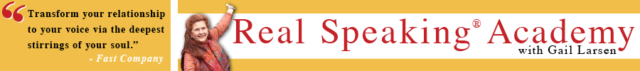 Transformational Speaking Logo
